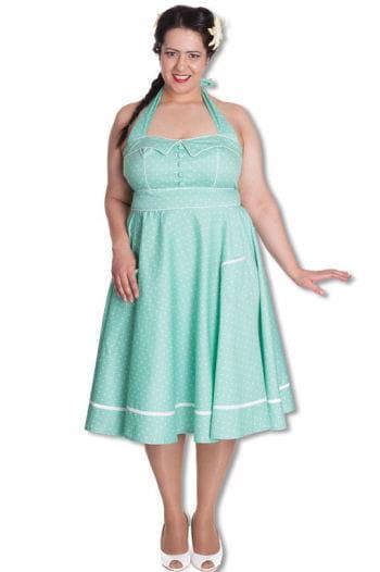 Mint green petticoat dress Plus Size