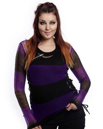 Miss Krueger sweater black-purple