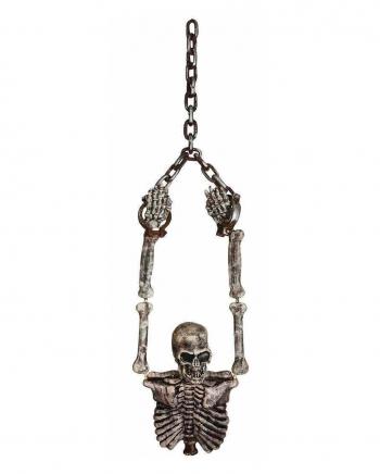 Gefesselter Skelett Torso mit Ketten