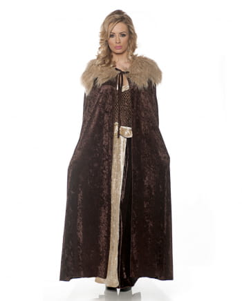 Medieval Costume Cape brown