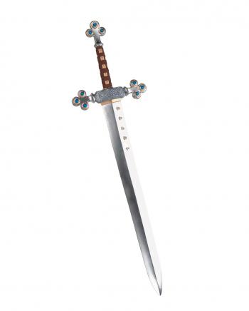 Klassisches Ritterschwert mit Juwelen