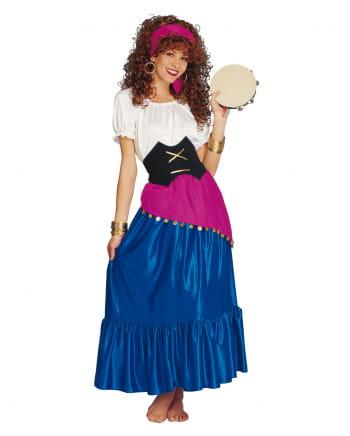 Modische Zigeunerin Kostüm