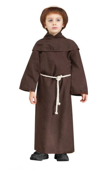 Monk Child Costume XL with wig