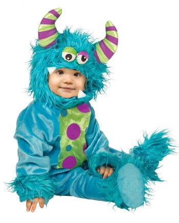 Blaues Monsterbaby Kostüm