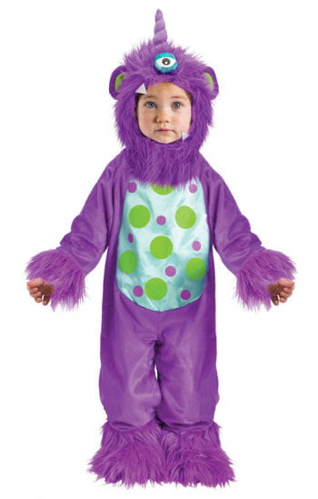 Purple Monster Baby Costume For Halloween & Carnival