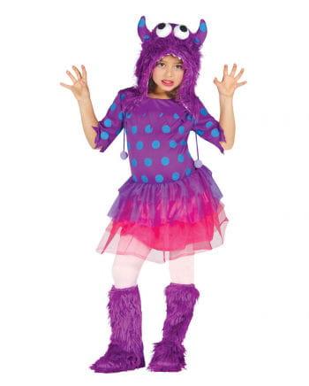 Monster Girl Girl Costume Purple