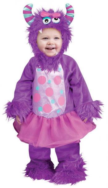 Monster im Tütü Babykostüm lila