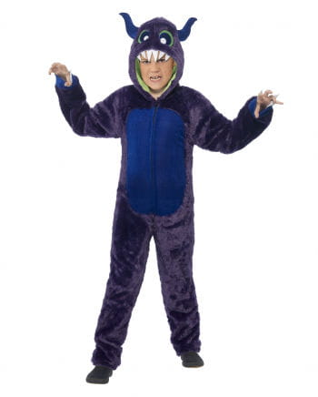 Monster Child Costume Purple