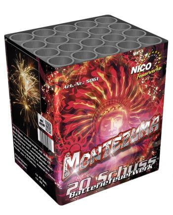 Montezuma Batteriefeuerwerk 20 Schuss