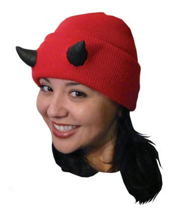 Teufel Mütze mit Hörnern