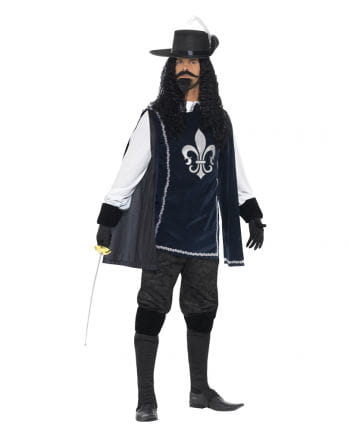 Musketeer costume with hat