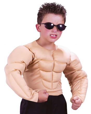 Muskelmann Kinderkostüm M