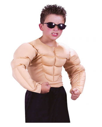 Muscle Man Child Costume M