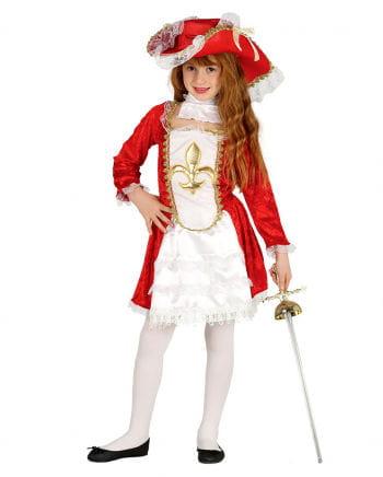 Mädchenkostüm Musketier Girl