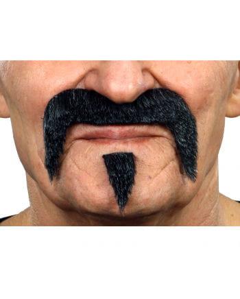 Musketeer Beard Black-Grey