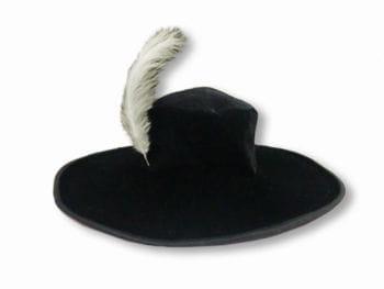 Musketier Hut mit Feder