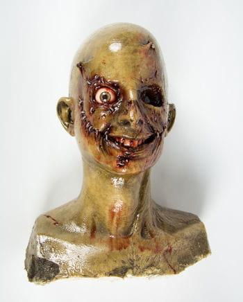 Nagelpistolen Zombie Schädel