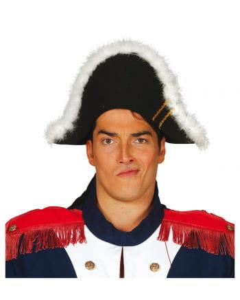 Napoleon Zweispitz schwarz