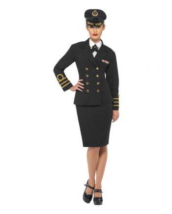 US-Marineoffizier Damen Kostüm XL