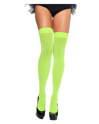 Neon Green 80s Overknees