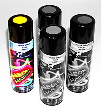 NEON Hair Spray Yellow