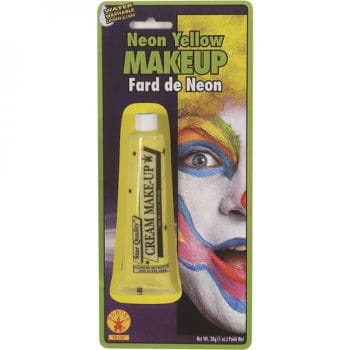 Neon Makeup Yellow