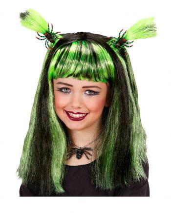 Halloween Kid's Wig Green