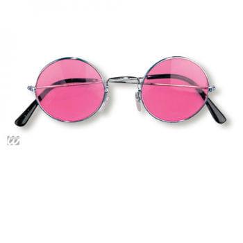Nickelbrille pink