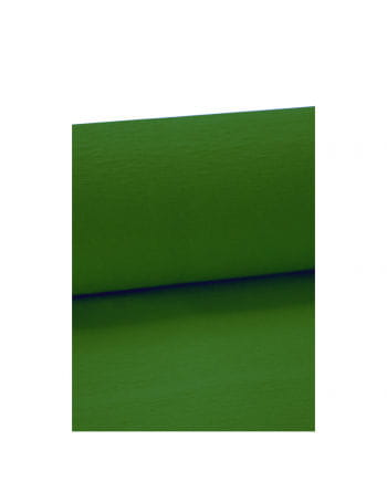 Niflamo green crepe paper 10 meters