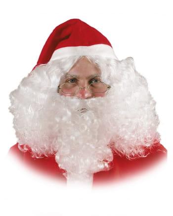 Santa Claus Perücke und Bart