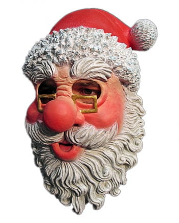 Santa Claus Mask With Glasses And Beard