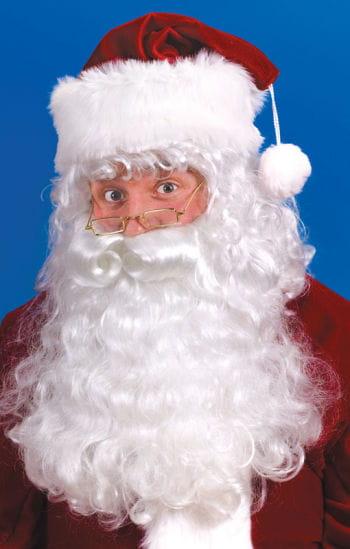 WeihnachtsmannPerücke & Bart Set dlx.