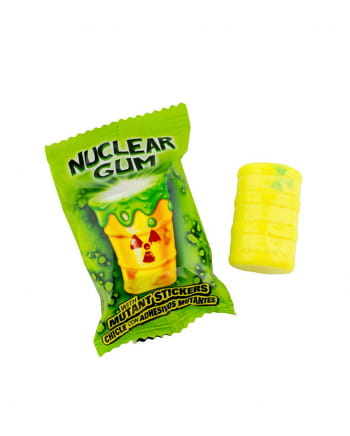 Nuclear Gum With Mutant Sticker