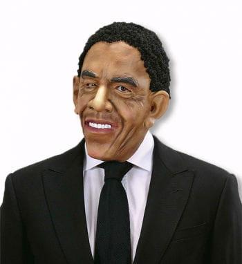 Obama Maske mit Haaren
