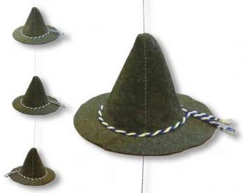 Oktoberfest Felt Hat Hanging Garland