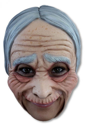 Oma mask with wrinkles