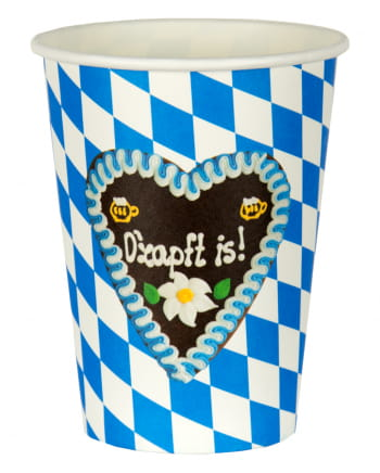 O`zapft Is Oktoberfest Party Cup 8 Pcs.