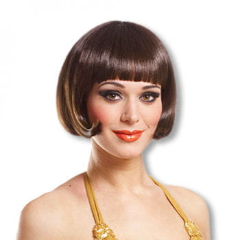 Pageboy Style Wig Brown