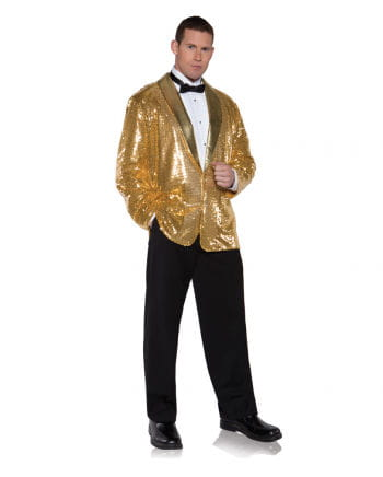 Sequined Jacket Gold