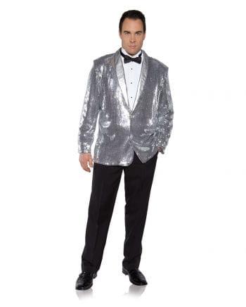 Silbernes Pailletten Jacket