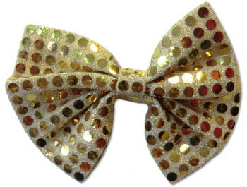 goldene pailletten fliege fliege f r anzug karneval universe. Black Bedroom Furniture Sets. Home Design Ideas