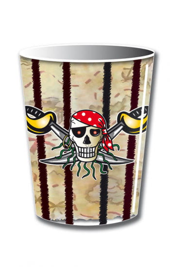 Pappbecher Red Pirate