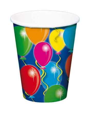 Paper Cup Balloons 8 Pcs.