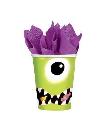 Monster Pappbecher