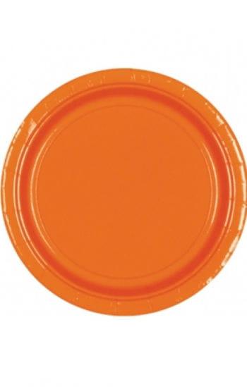 Paper Plate Orange