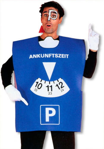Parking Disc Costume