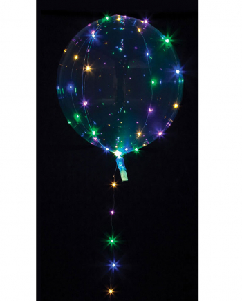 Party Ball Balloon With Colorful LED Light Chain