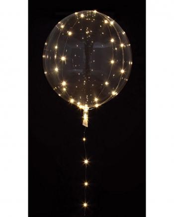 Party Kugel Ballon mit LED Lichterkette
