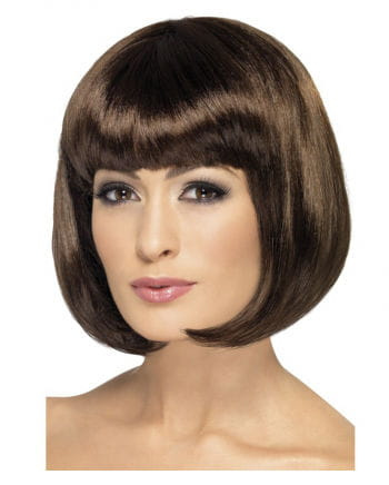 Partyrama Bob Wig Dark Brown