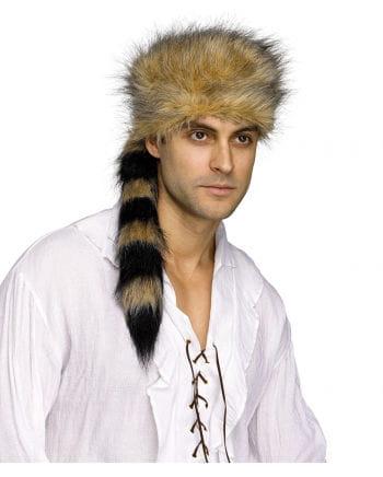 Pelztier Jäger Kostüm Mütze
